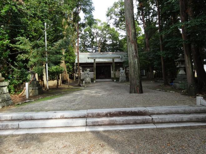 有田神社拝殿写真