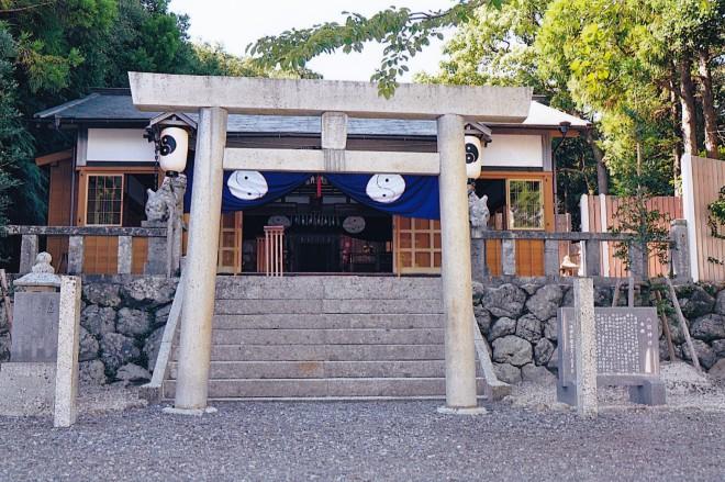 八柱神社(宿田曽)写真鳥居 (2)