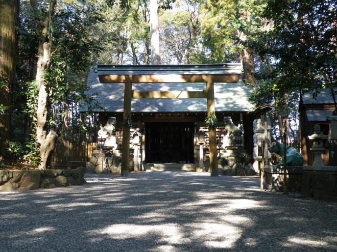 田丸神社拝殿写真