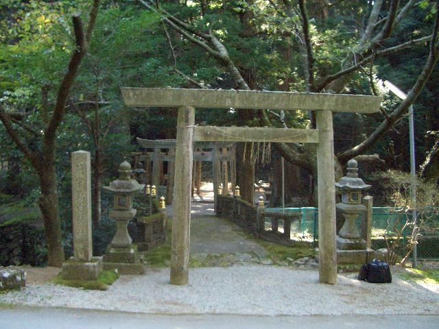 蘭宇気白神社写真1