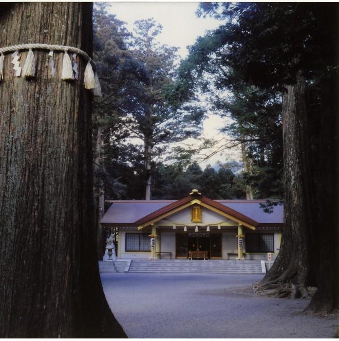 頭之宮四方神社社殿
